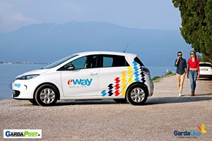 Garda Uno: riparte il car sharing Eway